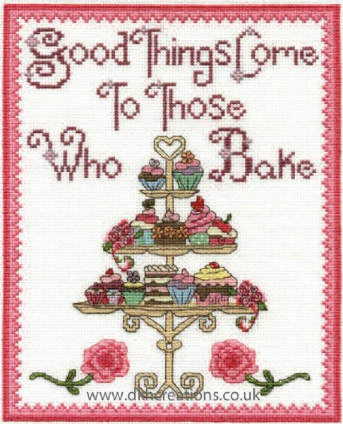 Good Things Come To Those Who Bake Cross Stitch Kit